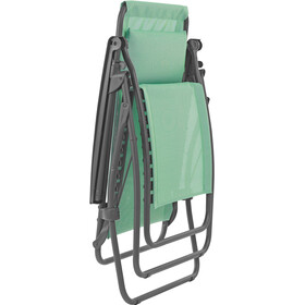 Lafuma Mobilier R Clip - Siège camping - Batyline gris/turquoise
